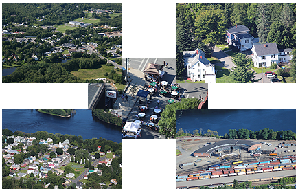 Arial Photography of Maine Towns, Businesses and Events