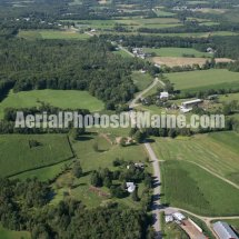 Albion, Maine Aerial Photos