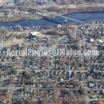 Augusta, Maine Aerial Photos