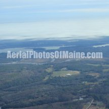 Bowdoinham, Maine Aerial Photos