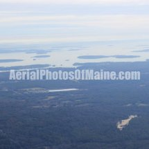 Casco Bay, Maine Aerial Photos