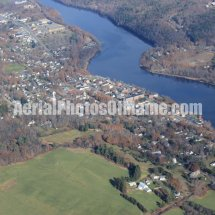 Hallowell, Maine Aerial Photos