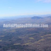 Mountains & Wind Farms, Maine Aerial Photos