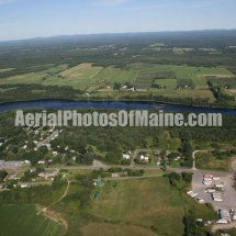 Shawmut, Maine Aerial Photos