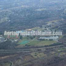 Waterville, Maine Colleges Aerial Photos