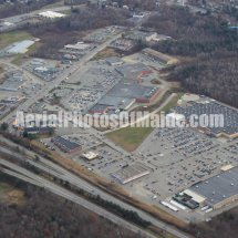 Waterville, Maine Shopping Centers Aerial Photos