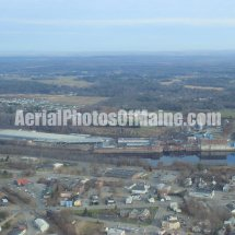 Winslow, Maine Aerial Photos